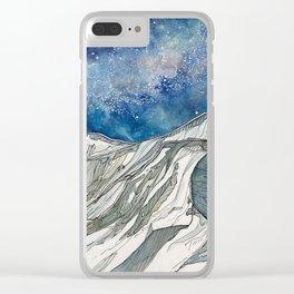 Ridgeline on Sopris Clear iPhone Case