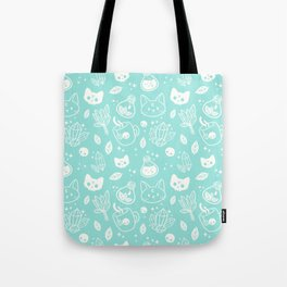 Herb Witch // Green Pastel Tote Bag