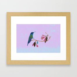 witness of love Framed Art Print