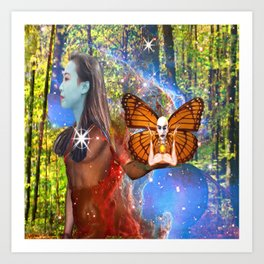 Magic Garden Art Print