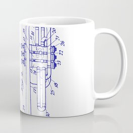 Blueprint coffee mugs society6 trumpet coffee mug malvernweather Gallery
