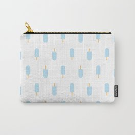 Blue Popsicles Carry-All Pouch