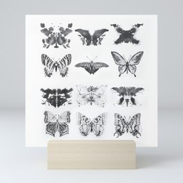 Rorshach Interpretation Mini Art Print
