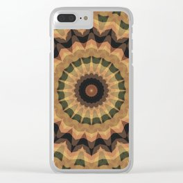 Ethnic ornament, kaleidoscope Clear iPhone Case