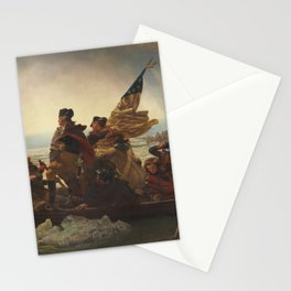 Washington Crossing The Delaware Stationery Cards