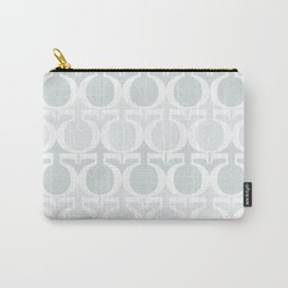Minty Greek Carry-All Pouch