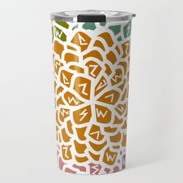 Floral decoration Travel Mug