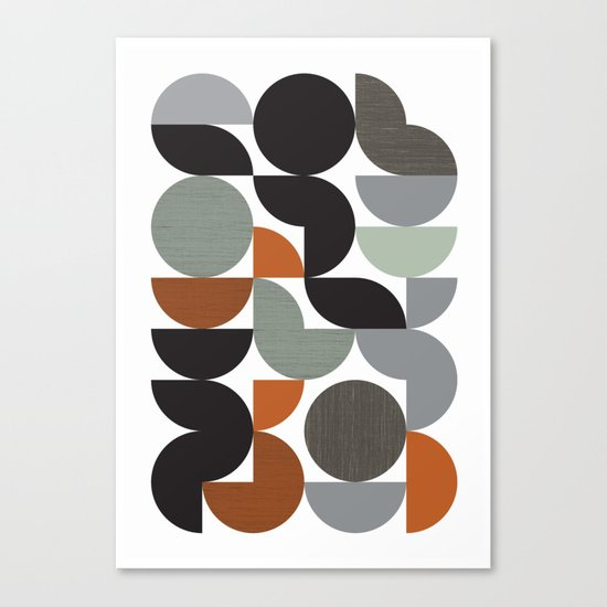 Circulate Canvas Print