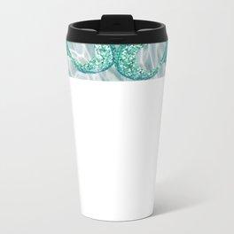 mermaid madison Metal Travel Mug