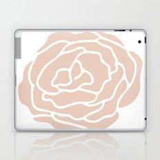Rose in Vintage Rose Pink on White Laptop & iPad Skin