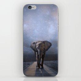 I Walk Alone iPhone Skin