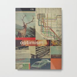 Optimism178 Metal Print