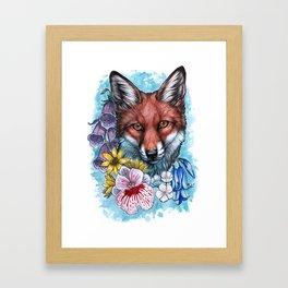 Forest Flowers Framed Art Print