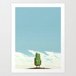 Little Rock Art Print