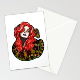 Bed of Snakes Stationery Cards