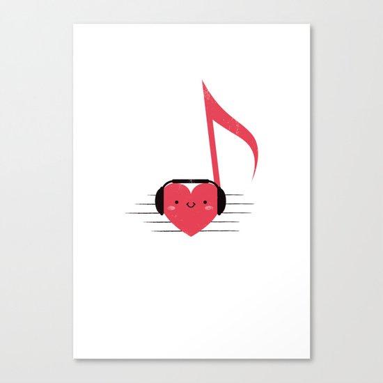 Heartbeats Canvas Print