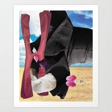 Indian Summer Arriving on Waves of Ocean Dreams Art Print