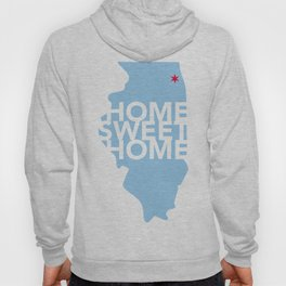 Chicago Home Sweet Home Hoody