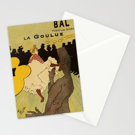 Paris nightlife 1891 Toulouse Lautrec Stationery Cards