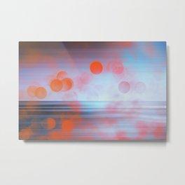 Lava Tears - abstract seascape Metal Print