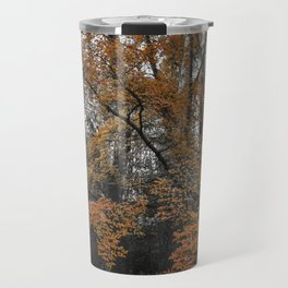 rustic orange Travel Mug