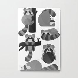 Rocket the Raccoon Metal Print