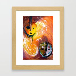 Kinshasa Framed Art Print