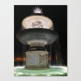 notte romana. Canvas Print