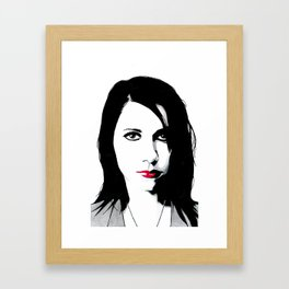 Polly Jean Framed Art Print