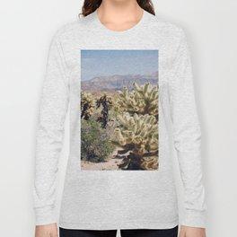 Joshua Tree Cactus Garden Long Sleeve T-shirt