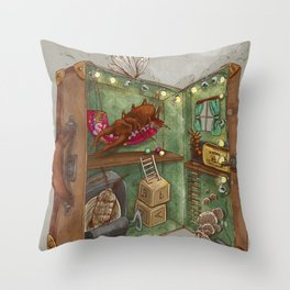 One man's trash - Home Sweet Home Throw Pillow