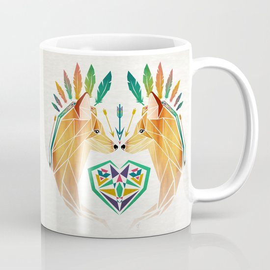 foxes in love Mug