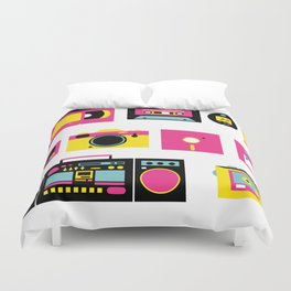 80s, 90s and beautiful old time Duvet Cover