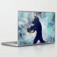 rocket raccoon Laptop & iPad Skins featuring Rocket Raccoon by Luca Leona