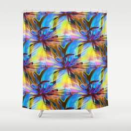 Floral Exotica 3 Shower Curtain
