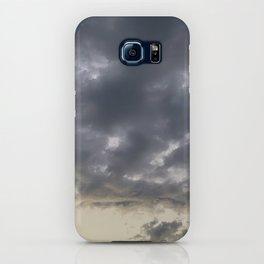Grey clouds iPhone Case