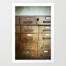 Get Your Hands Off My Drawers Art Print
