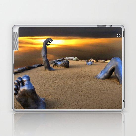 Trapped and Seeking Help Laptop & iPad Skin