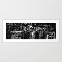 The Maker Art Print
