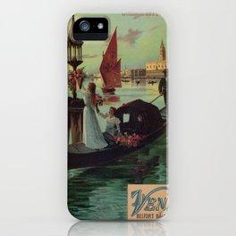 Paris Venice Victorian romantic travel iPhone Case