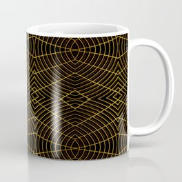 Futuristic Geometric Design Coffee Mug