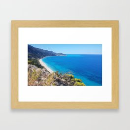 grecia Framed Art Print