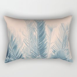 Tropical Leaves Dream #4 #tropical #decor #art #society6 Rectangular Pillow