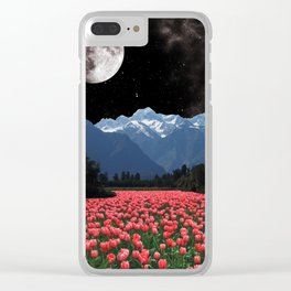 Tulip Lake Clear iPhone Case