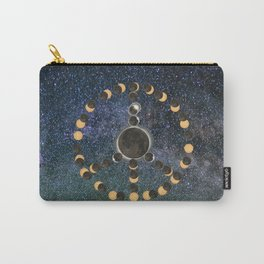 Solar Eclipse – Peace on Earth Carry-All Pouch