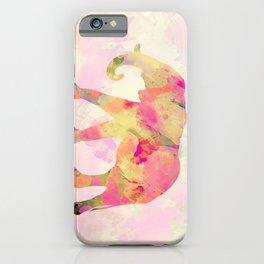 Abstract Elephant II iPhone Case