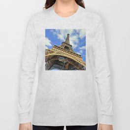 Eiffel Tower in a Sunny Morning Long Sleeve T-shirt