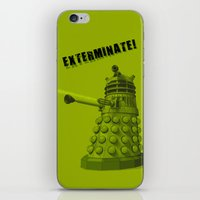 dalek iPhone & iPod Skins featuring Dalek by Digital Arts & Crafts by eXistenZ