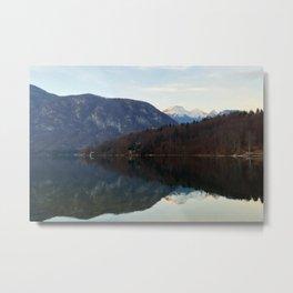 Lake Bohinj, Bohinjsko jezero, Slovenia Metal Print