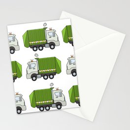 Garbage Truck Stationery Cards